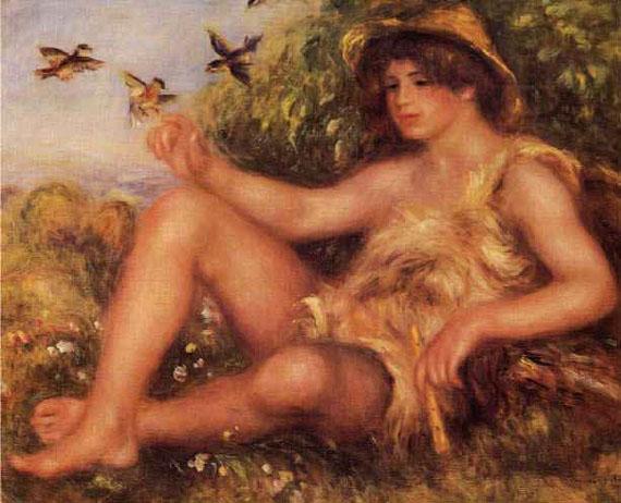 Alexandre Thurneyssen en jeune pâtre - Renoir