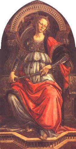 Allégorie de la force - Botticelli