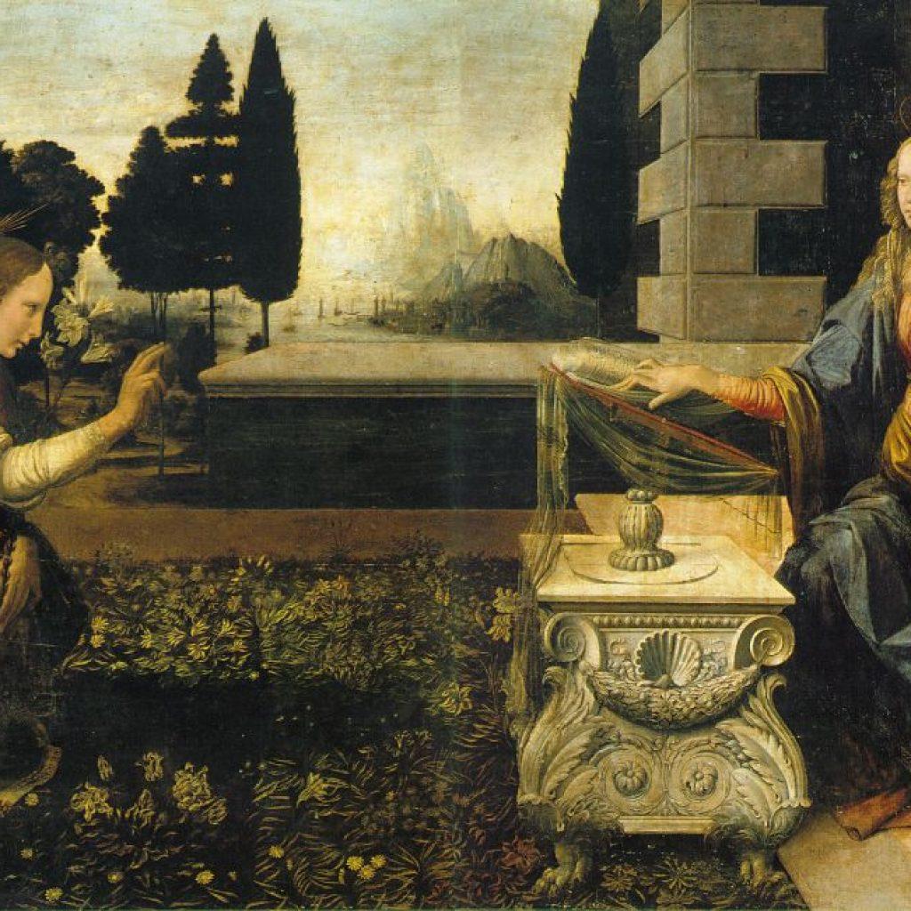 Annonciation - De Vinci
