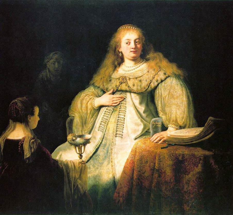 Artemis - Rembrandt