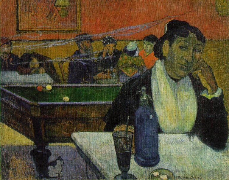 Au Café à Arles - Gauguin
