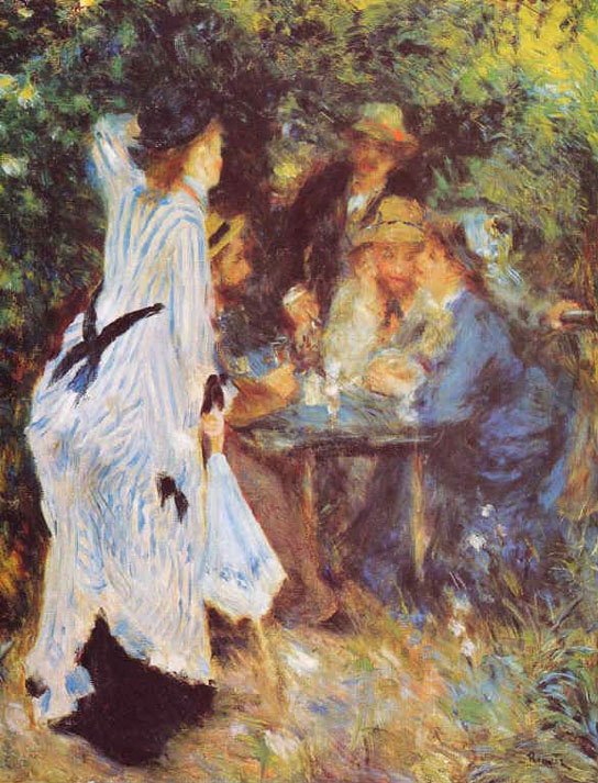 Au jardin - Renoir