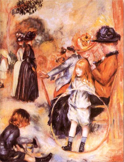 Au jardin du Luxembourg - Renoir