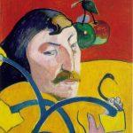 Autoportrait à l'auréole - Gauguin