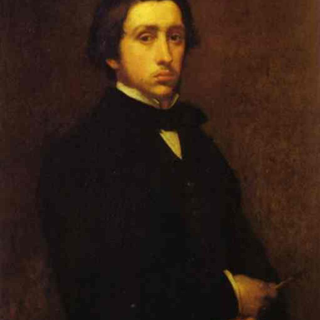 Autoportrait - Degas