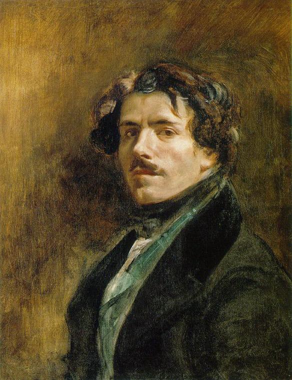 Autoportrait - Delacroix