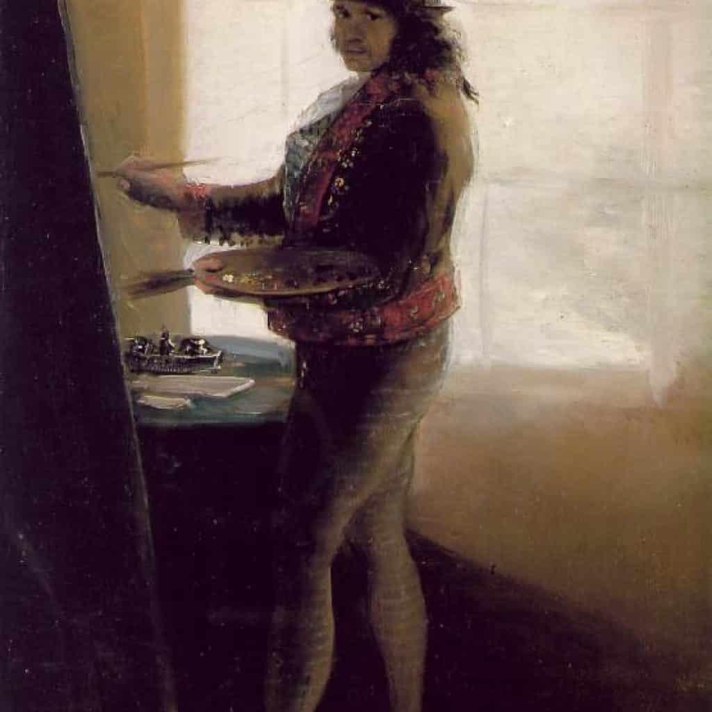 Autoportrait - Goya