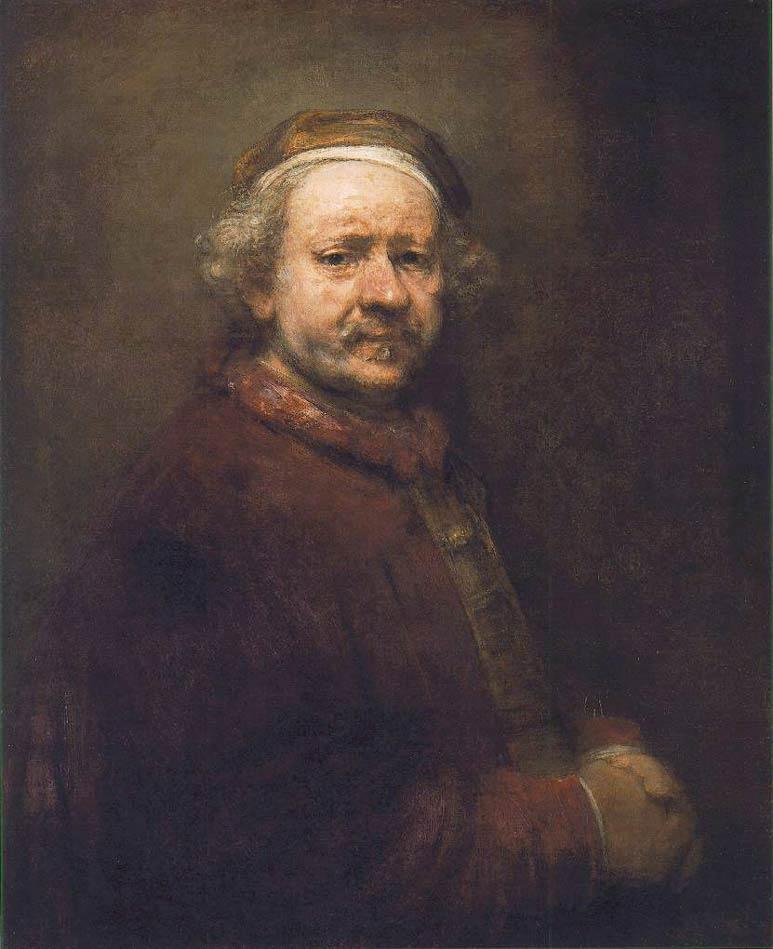 Autoportrait - Rembrandt