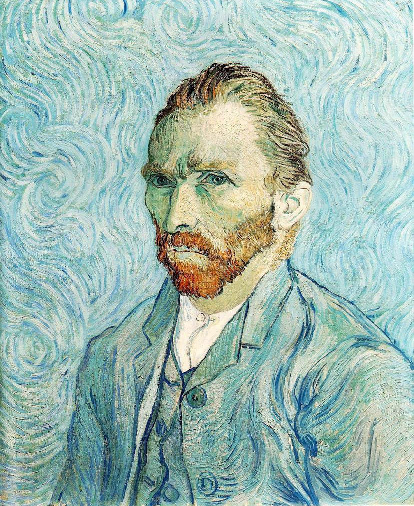 Autoportrait - Van Gogh
