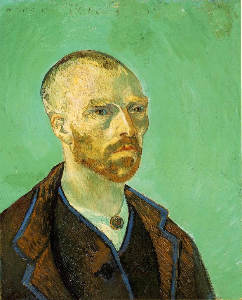 Autoportrait dédicacé à Paul Gauguin - Van Gogh