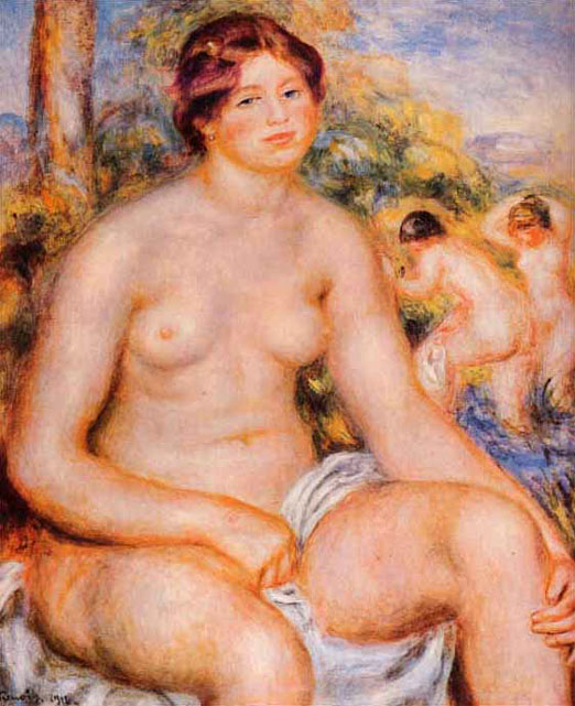 Baigneuse assise - Renoir
