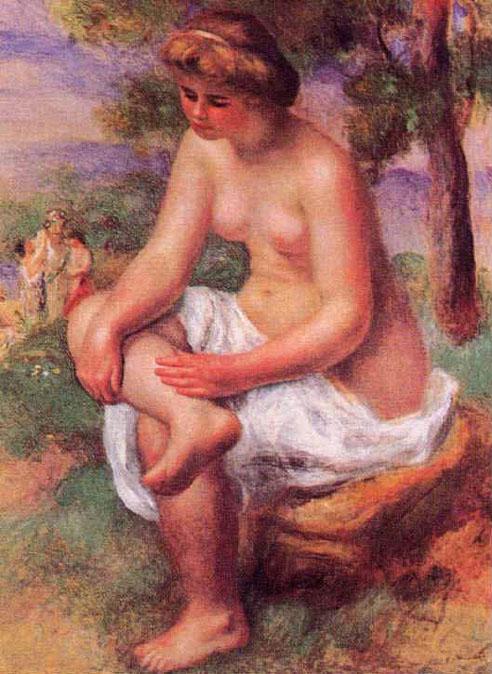 Baigneuse blonde - Renoir