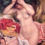 Baigneuse se coiffant - Renoir