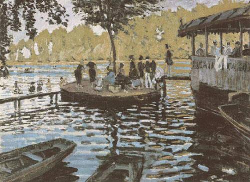 Bain à la Grenouillère - Monet