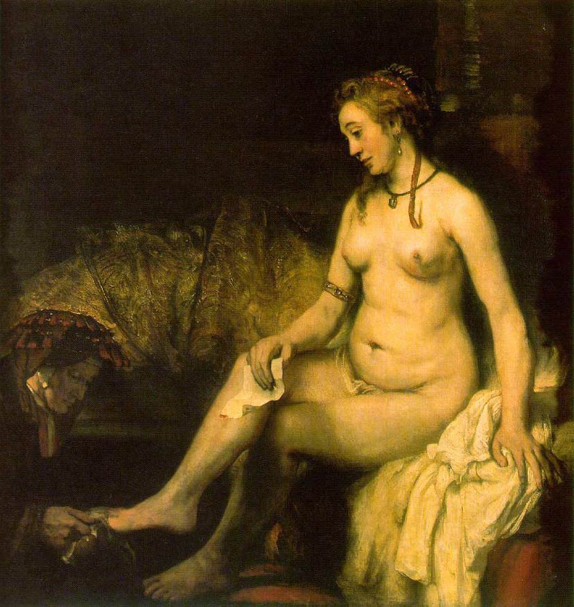 Bathsheba au bain - Rembrandt