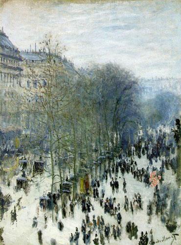 Boulevard des Capucines - Monet