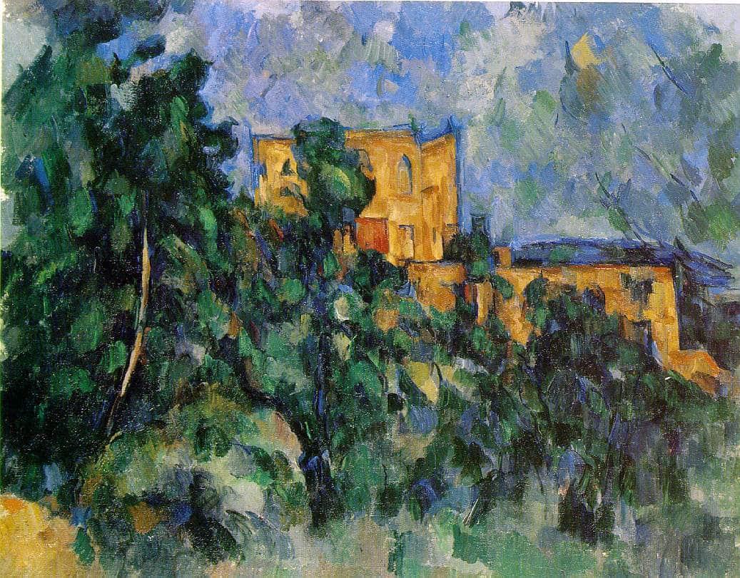Château noir - Cézanne