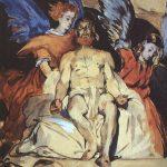 Christ avec des anges - Manet