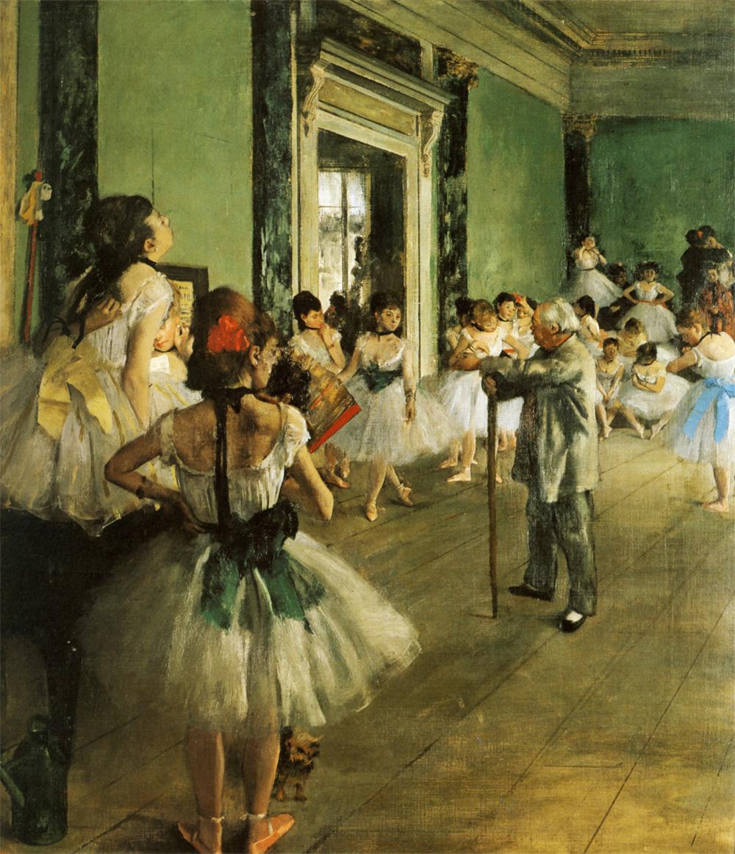 Classe de danse - Degas