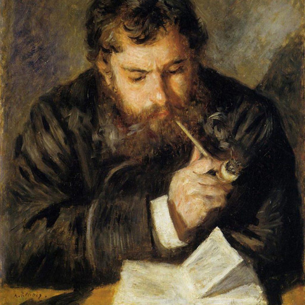 Claude Monet ou le liseur - Renoir