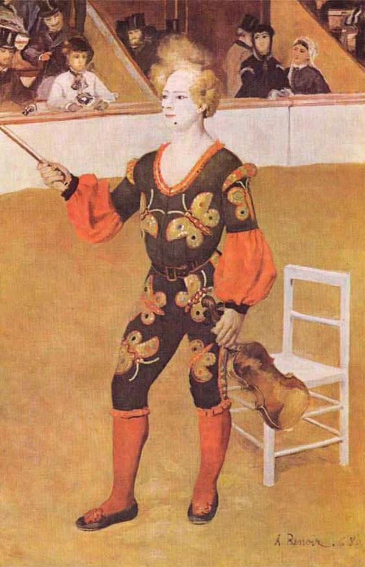 Clown au cirque - Renoir