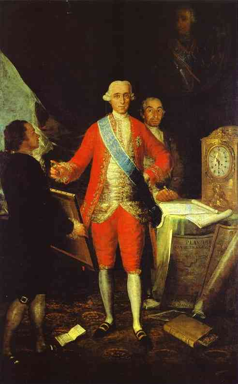 Comte de Floridablanca - Goya