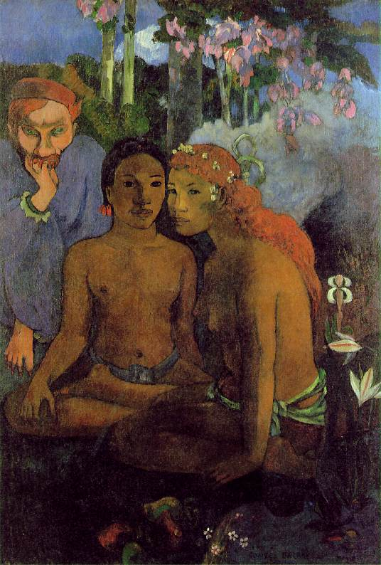 Contes barbares - Gauguin