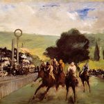 Courses à Longchamp - Manet