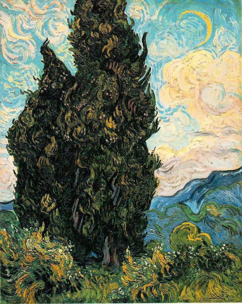 Cyprès - Van Gogh