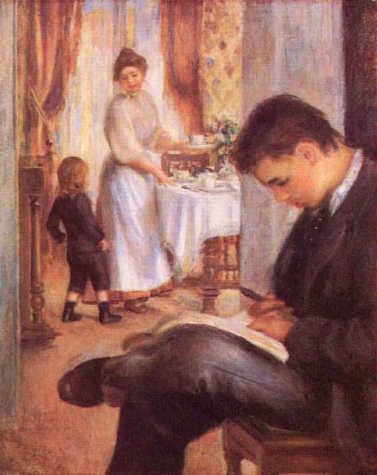 Déjeuner à Berneval - Renoir