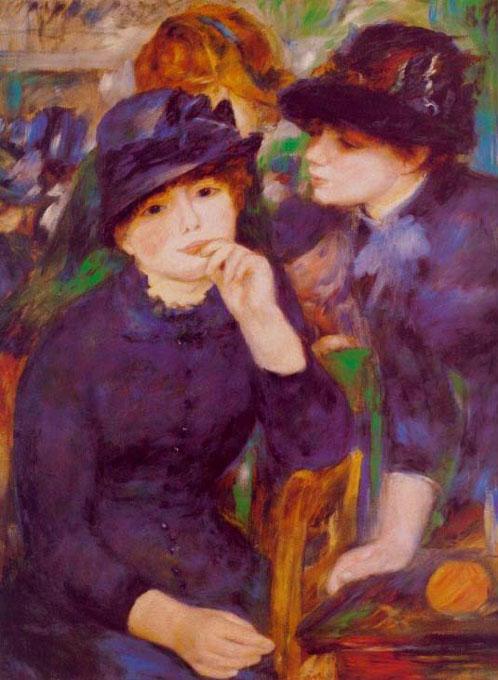 Deux jeunes filles en noir - Renoir