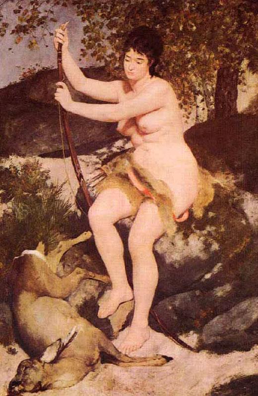 Diane chasseresse - Renoir