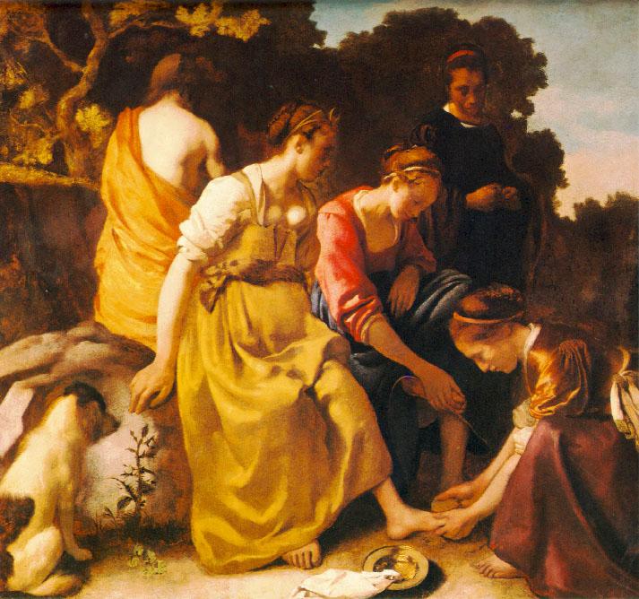 Diane et ses compagnes - Vermeer