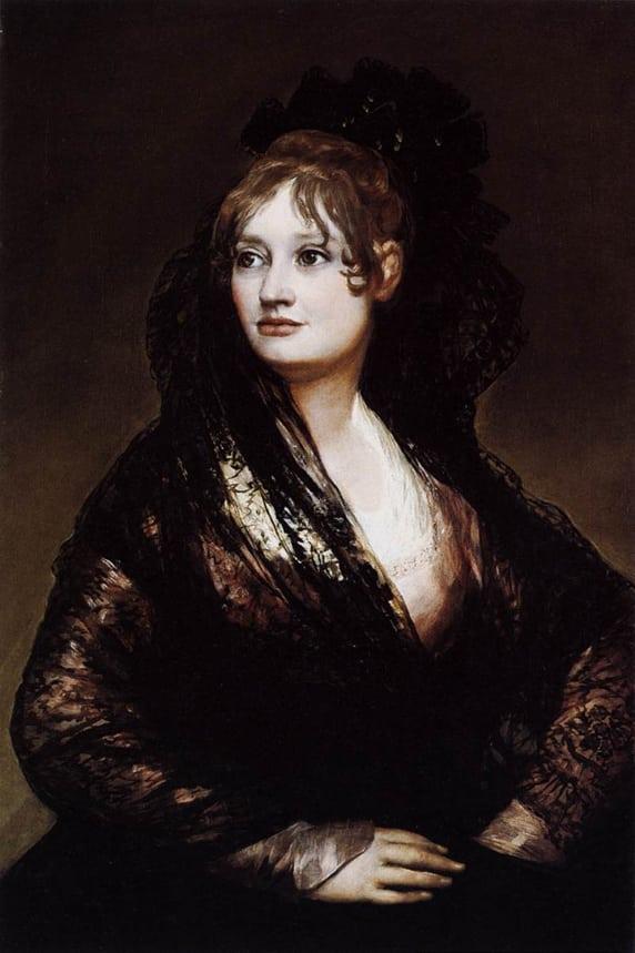 Doña Isabel de Porcel - Goya