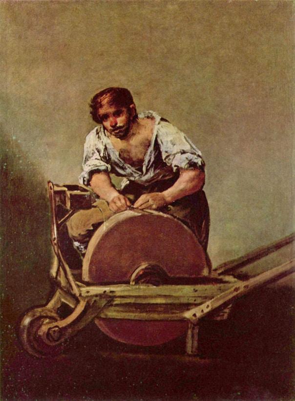 El Afilador - Goya