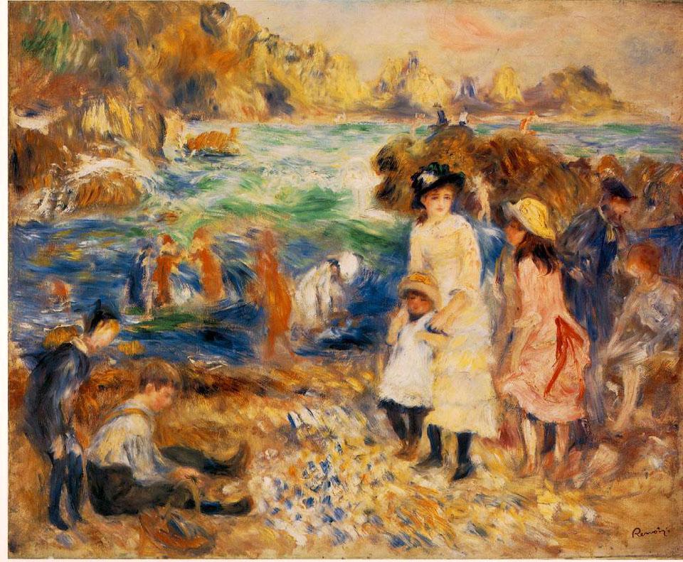 Enfants à Guernsey - Renoir
