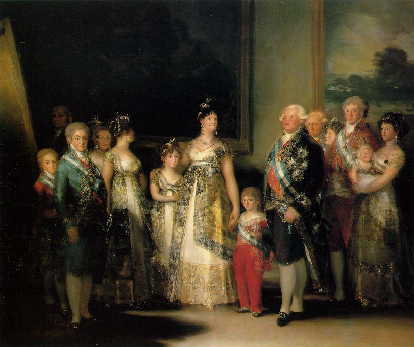 Famille de Charles IV - Goya