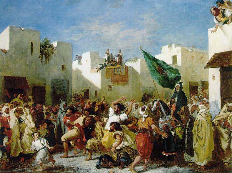 Fanatiques de Tanger - Delacroix