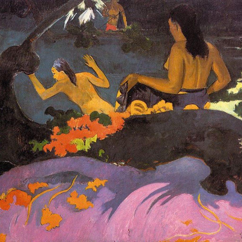Fatata te Miti (Près de la mer) - Gauguin