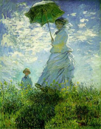 Femme à l'ombrelle - Monet