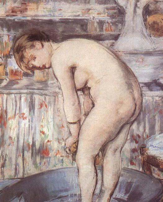 Femme dans une baignoire - Manet