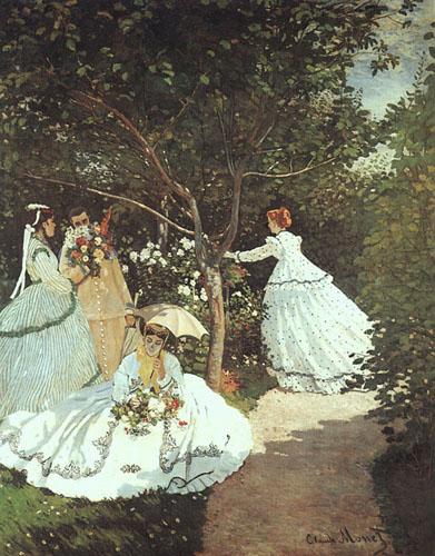 Femmes au jardin - Monet