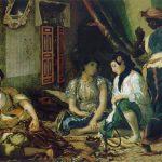 Femmes d'Alger dans leurs appartements - Delacroix