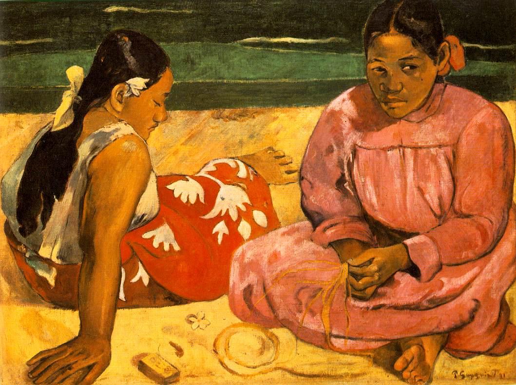 Femmes de Thaïti - Gauguin