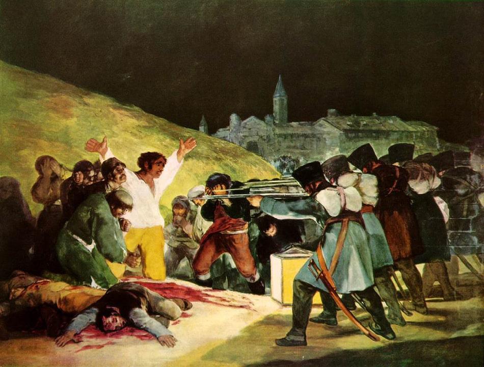Fusillades du 3 mai - Goya
