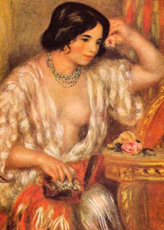 Gabrielle aux bijoux - Renoir