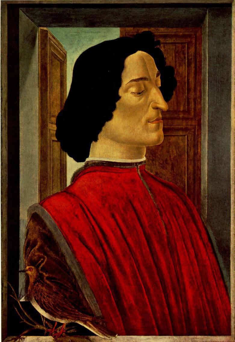 Giuliano de Medici - Botticelli