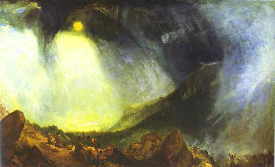 Hannibal traversant les Alpes - Turner