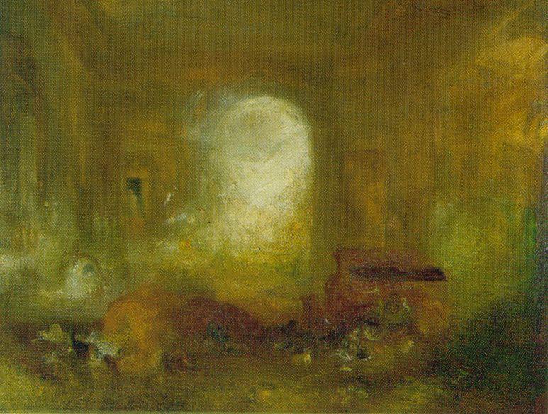 Intérieur de Petworth - Turner