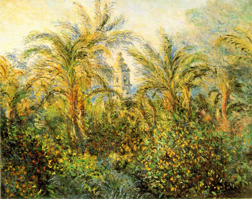 Jardin à Bordighera - Monet